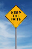 Keep the Faith Royalty Free Stock Images