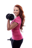 Keep fit woman Stock Photos
