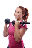 Keep fit woman Royalty Free Stock Photos