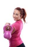 Keep fit woman Stock Photos