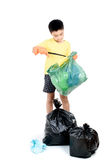 Keep garbage in bag for eliminate Royalty Free Stock Photos