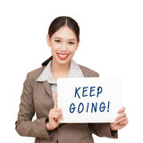 Keep going Stock Photography