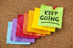 Free Keep Going Motivation Concept Royalty Free Stock Photography - 31396027