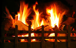 Keep the homefire burning Royalty Free Stock Photography