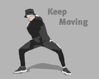 Keep Moving Royalty Free Stock Photo