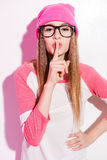 Keep my secret! Royalty Free Stock Photo