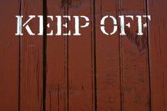 Keep Off Stock Photos