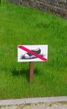 Keep off grass Stock Photos