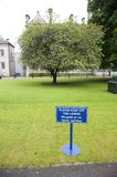 Keep off the lawns Royalty Free Stock Photos