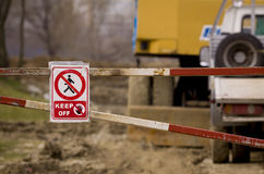 Free Keep Off Sign Stock Image - 60543761