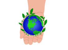 Keep Our Earth Green Royalty Free Stock Photography