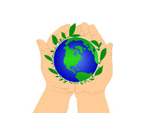 Keep Our Earth Green Stock Image