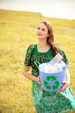 Keep our planet clean Royalty Free Stock Image