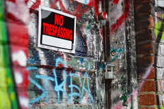 keep out Στοκ Φωτογραφία