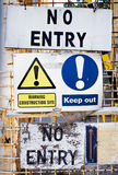 Keep out sign Royalty Free Stock Photography