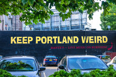 Keep Portland Weird royalty free stock photos