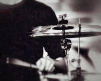 Keep the rhythm alive. Keep rhythm alive drums music drumsticks performance band rock metal blackandwhite tempo group stock photo