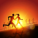Keep Running Stock Images