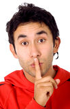 Keep it secret! Stock Photo