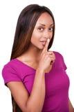Keep silence! Royalty Free Stock Photos