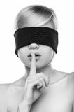 Keep silence. Stock Photography