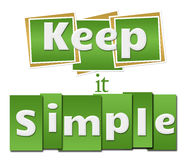 Keep It Simple Green Squares Stripes Royalty Free Stock Photos