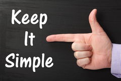 keep it simple post its used to innovation stock image image of