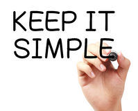 Keep It Simple Royalty Free Stock Photos