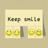 Keep Smile Royalty Free Stock Photos