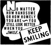 Keep Smiling 2 Royalty Free Stock Photos