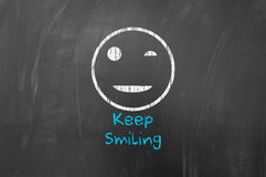Keep smiling Royalty Free Stock Photography