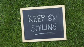Keep on smiling Stock Photography