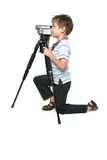 Keep in steady. Using a tripod will give you a nice steady picture royalty free stock photo