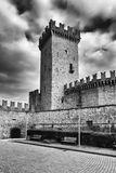 The keep of Vigoleno Royalty Free Stock Photography