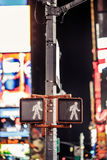 Keep walking New York traffic sign Royalty Free Stock Images
