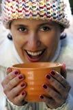Keep warm Royalty Free Stock Image