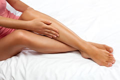 Keep your legs sexy Royalty Free Stock Image