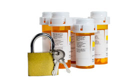 Keep Your Medications Safe Stock Photography