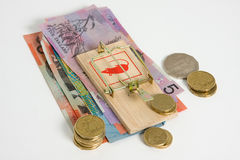Keep your money safe Royalty Free Stock Photography