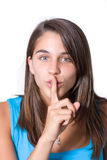 Keep your secrets secret Royalty Free Stock Image