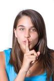 Keep your secrets secret Royalty Free Stock Image