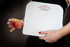 Keep your weight under control Royalty Free Stock Photos