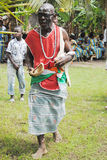 KEEPER OF TRADITION AND VALUES. Among the Akan peoples of Ivory Coast is designated by the chief guardian of tradition and values for péréniser African royalty free stock photography