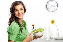 Keeping a diet Stock Images