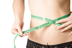 Keeping a diet and fitness rutine Royalty Free Stock Images