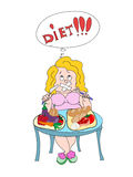 Keeping diet Stock Image