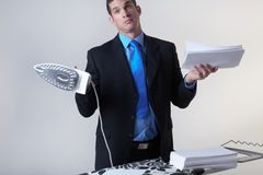 Keeping and Maintaining Good records Stock Images