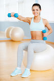 Keeping my body fit. Royalty Free Stock Photo