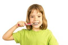 Keeping my teeth healthy Stock Image