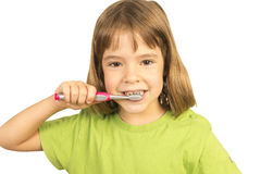 Keeping my teeth healthy Royalty Free Stock Photography